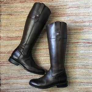 Frye Jayden Button Tall Boots Women 9.5